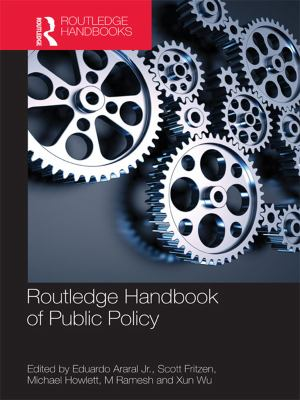 Routledge Handbook of Public Policyl