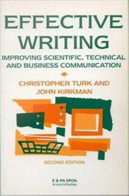 Coberta del llibre: Effective writing : improving scientific, technical and business communication