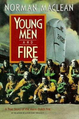 Young men and fire book cover