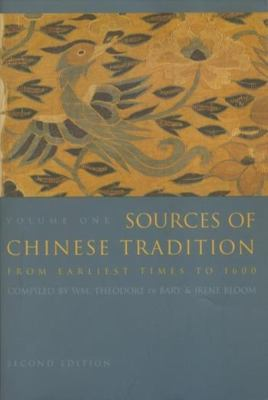 de Bary Sources Chinese cover art