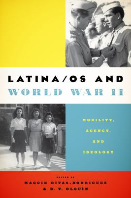book cover image for Latina/os and World War II