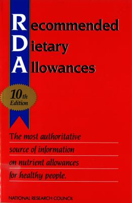 Book cover for Recommended Dietary Allowances