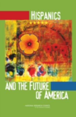 Book cover for Hispanics and the future of America.