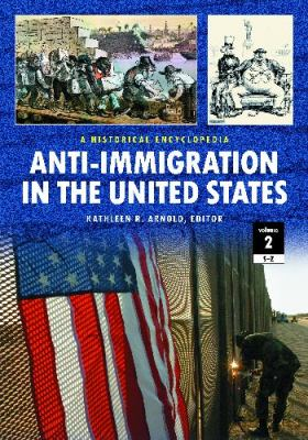 Book cover for Anti-immigration in the United States.