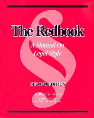 Redbook Manual on Legal Style book cover