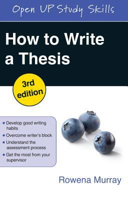 Book Cover for How to Write a Thesis