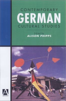 cover of Contemporary German Cultural Studies
