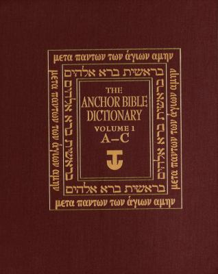 cover of The Anchor Bible Dictionary