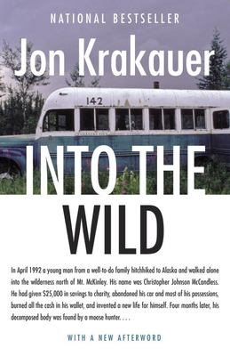 Book cover for Into the Wild.