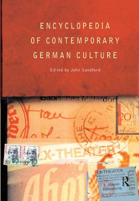 cover of Encyclopedia of Contemporary German Culture