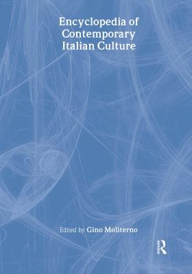 Cover oF Encyclopedia of Contemporary Italian Culture