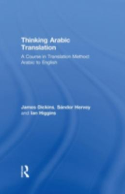 Cover Art for Thinking Arabic Translation