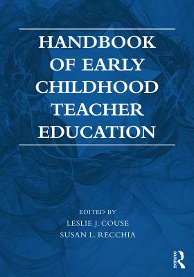 Cover Art: Handbook of early childhood teacher education