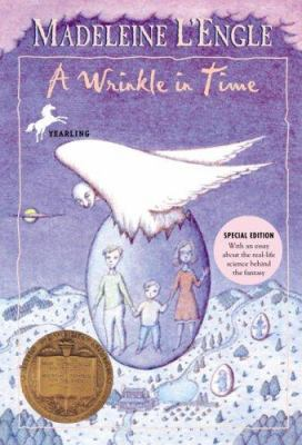 Book cover- A Wrinkle in Time