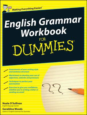English Grammar Workbook for Dummies - Opens in a new window
