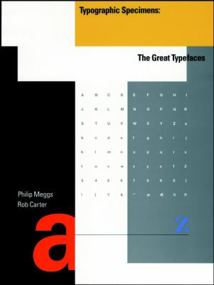A book cover with an abstract design of differently sized and colored letters, notably an A and a T. Other text is small, black letters.