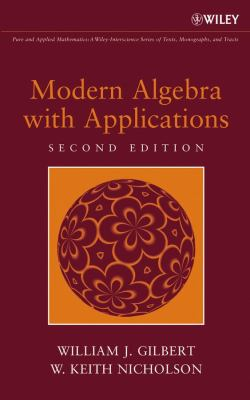 book cover: Modern algebra with applications