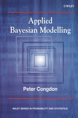 book cover: Applied Bayesian Modelling