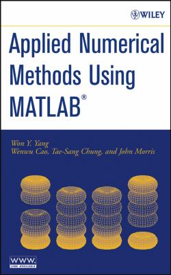 book cover: Applied Numerical Methods Using MATLAB