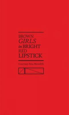 Brown girls in bright red lipstick
