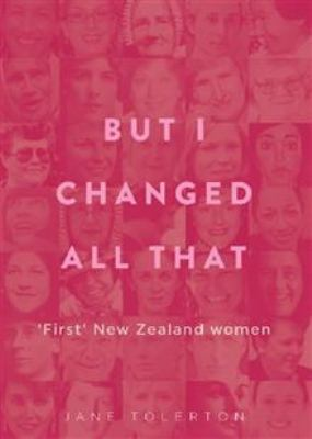 But I changed all that : 'first' New Zealand women