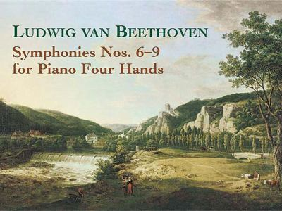 Symphonies Nos 6-9 for Piano Four Hands