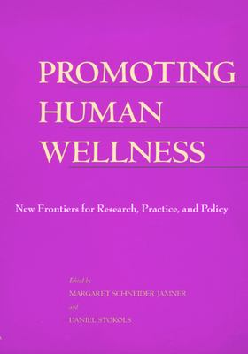 Cover for Promoting Human Wellness book