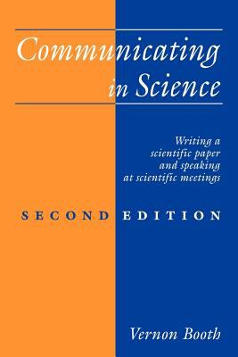Cover art for Communicating in science