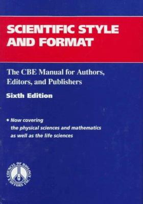 Scientific Style and Format book cover 1994 edition