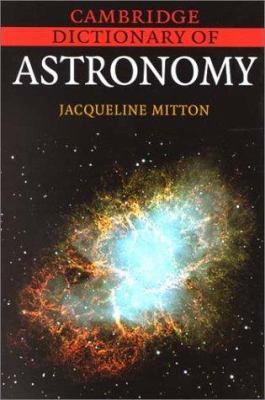 Cover image of Cambridge Dictionary of Astronomy