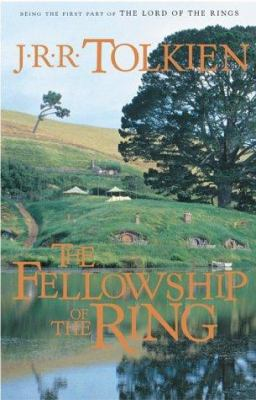 Book cover for The fellowship of the ring.