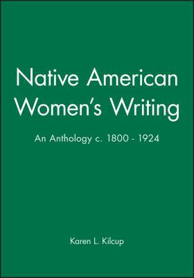 Native American Women's Writing, 1800-1924