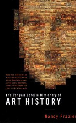 The Penguin Concise Dictionary of Art History Cover Art