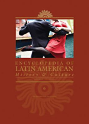 cover of Encyclopedia of Latin American History and Culture. 2nd edition.