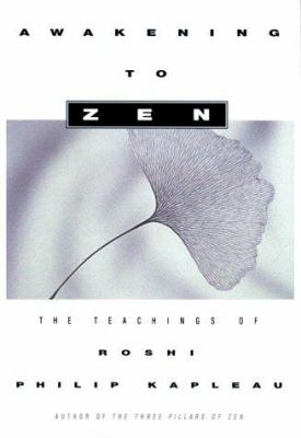 Kapleau Awakening to Zen cover art