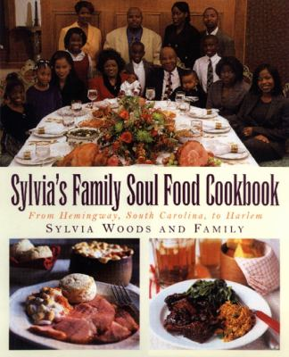 Sylvia's Family Soul Food Cookbook book cover