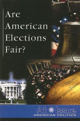 Book cover for Are American elections fair?