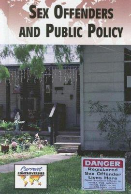Sex Offenders and Public Policy Cover Art