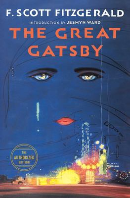 Book cover for The great Gatsby.