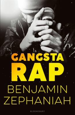 This is an image of the book cover of Gangsta Rap.