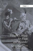 Vivaldi's Music for Flute and Recorder by Federico Maria Sardelli