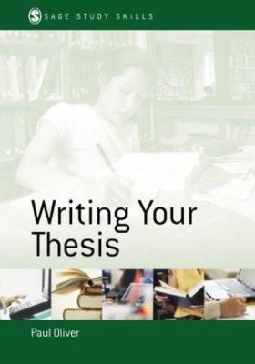 Cover art for Writing your thesis