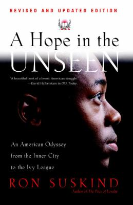 A Hope in the Unseen Book Cover Art