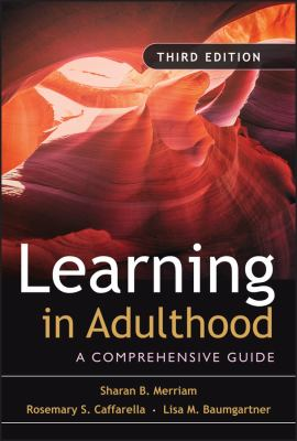 Book jacket for Learning in Adulthood: A Comprehensive Guide