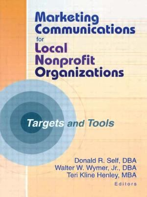 Marketing Communications for Local Nonprofit Organizations : Targets and Tools