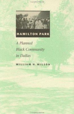 Book cover for Hamilton Park.