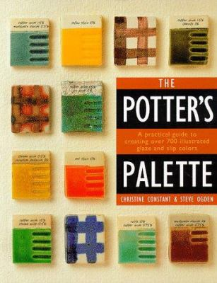 Book cover for The potter's palette.