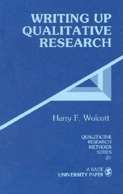 book cover writing up qualitative research