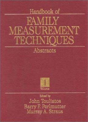 Picture of Family Measurement Techniques Book