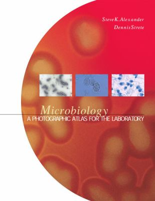 Microbiology book cover image